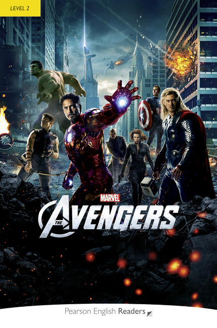 Pearson English Readers: Marvel's The Avengers + Audio CD