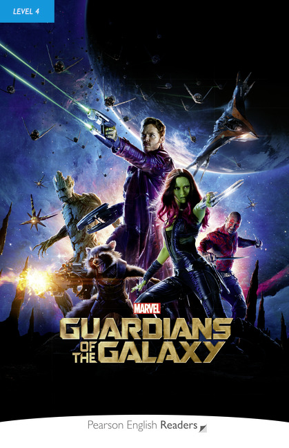 Pearson English Readers: Marvel's Guardians of the Galaxy + Audio CD