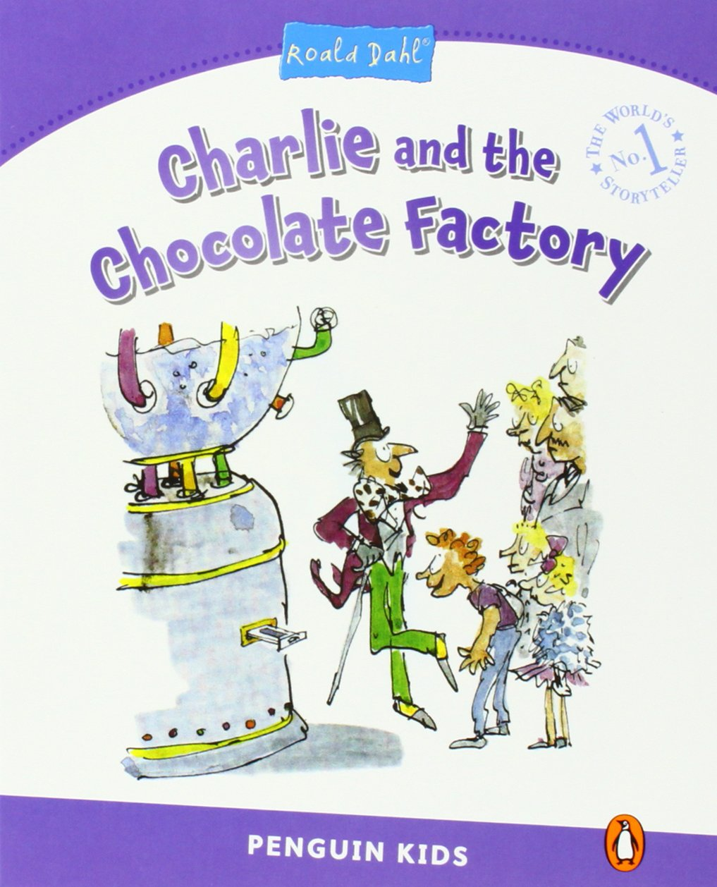 Pearson English Kids Readers: Charlie and the Chocolate Factory