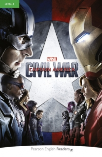 Pearson English Readers: Marvel's Captain America: Civil War + Audio CD