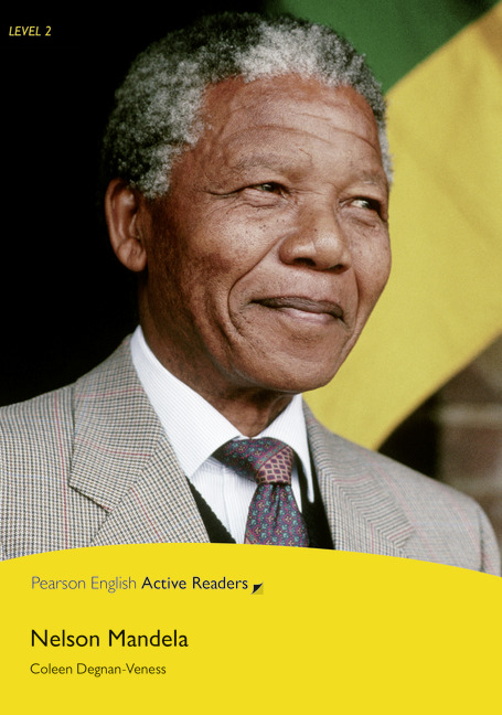 Pearson English Active Readers: Nelson Mandela Book + Audio CD