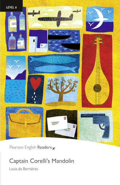 Pearson English Readers: Captain Corelli's Mandolin + Audio CD