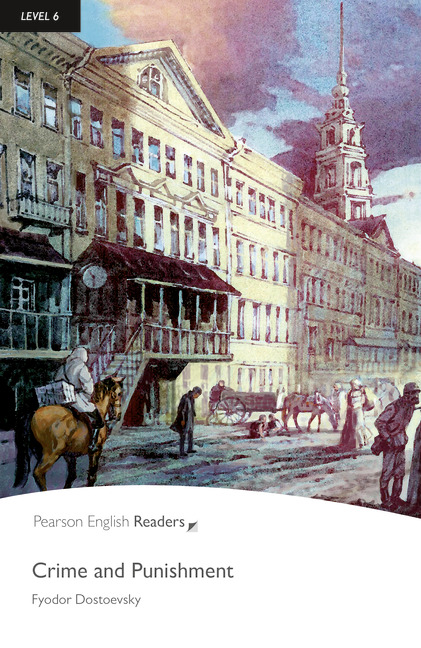 Pearson English Readers: Crime and Punishment + Audio CD