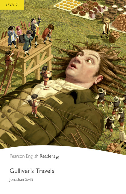 Pearson English Readers: Gulliver's Travels + Audio CD