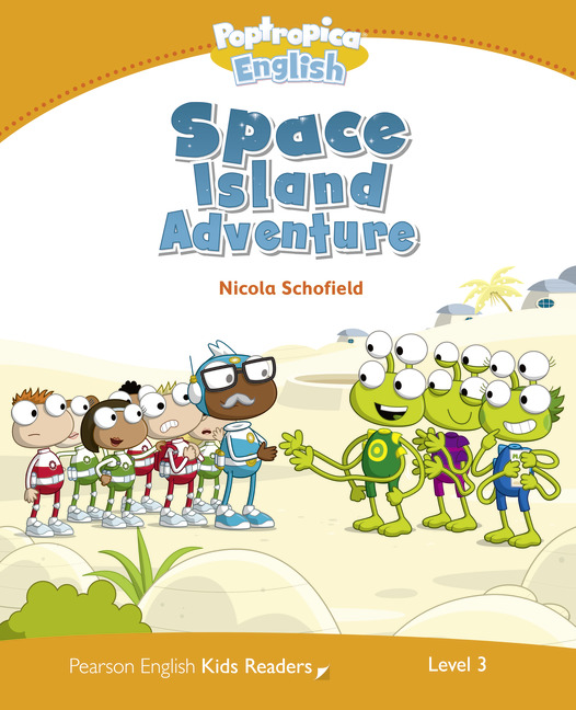 Pearson English Kids Readers: Poptropica English Space Island Adventure
