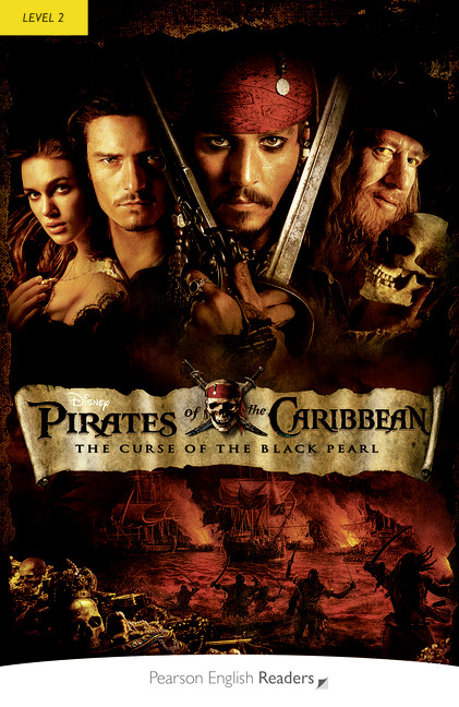Pearson English Readers: Pirates of the Caribbean: The Curse of the Black Pearl + Audio CD